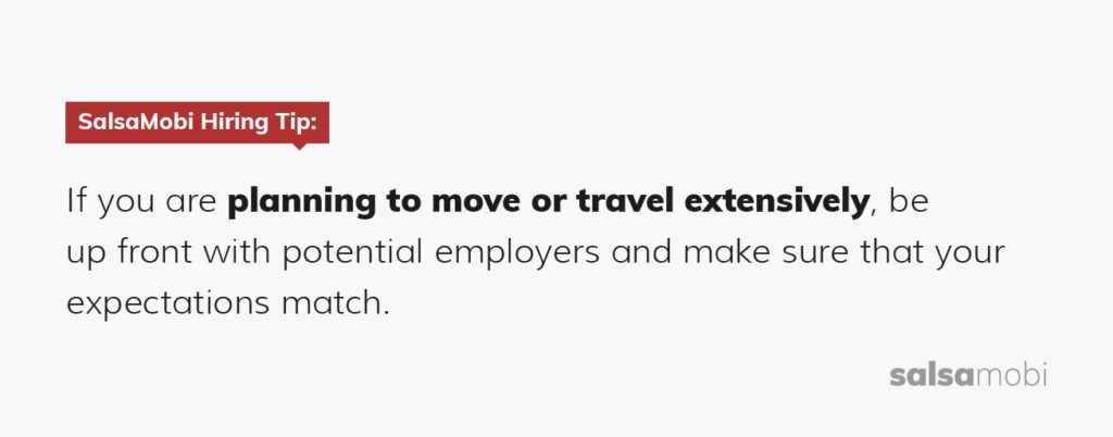 Before accepting a remote job, make sure your expectations match with your potential employer.