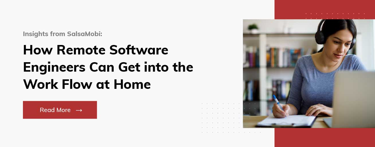 SalsaMobi: Distributed Software - Remote Software Work Flow From Home