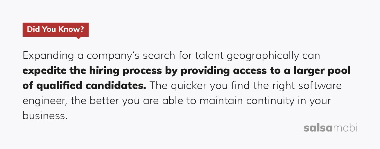 SalsaMobi: nearshore software development - hiring processs