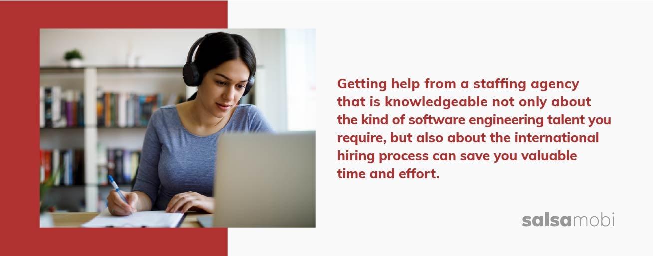 SalsaMobi: nearshore software development - staffing an agency