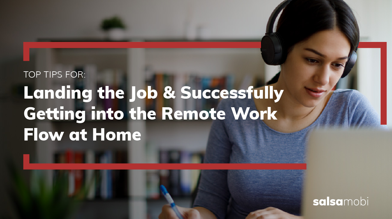 How Remote Software Engineers Can Get into the Work Flow at Home